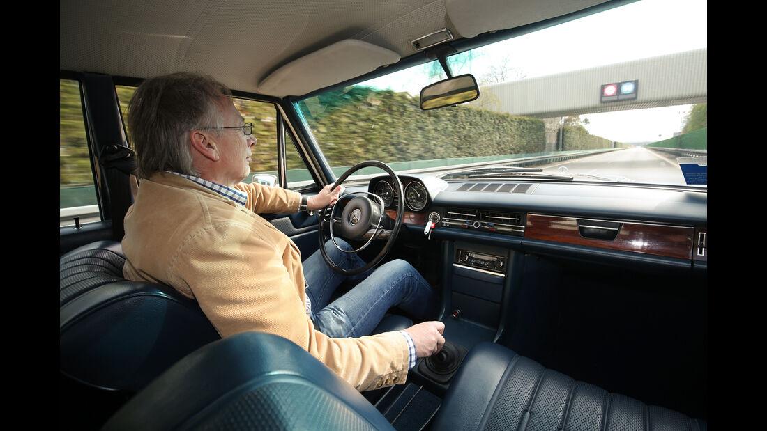 Mercedes 280 E, Mercedes E 220 d, Impression, Generationen-Treffen