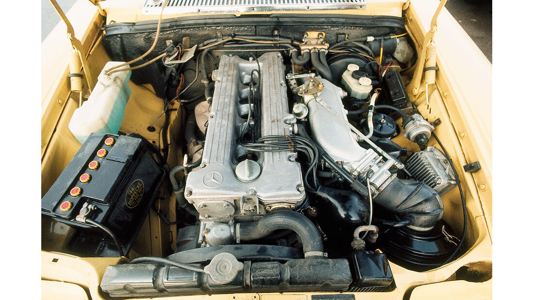 Mercedes 280 E, Motor