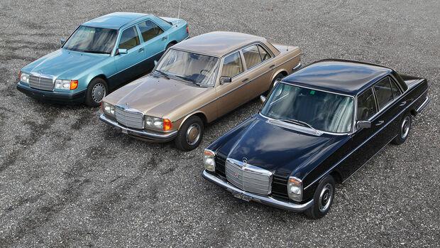 Mercedes 280 E Oldtimer Galerie Toffen