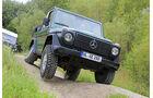 Mercedes 280 GE Cabrio, Frontansicht