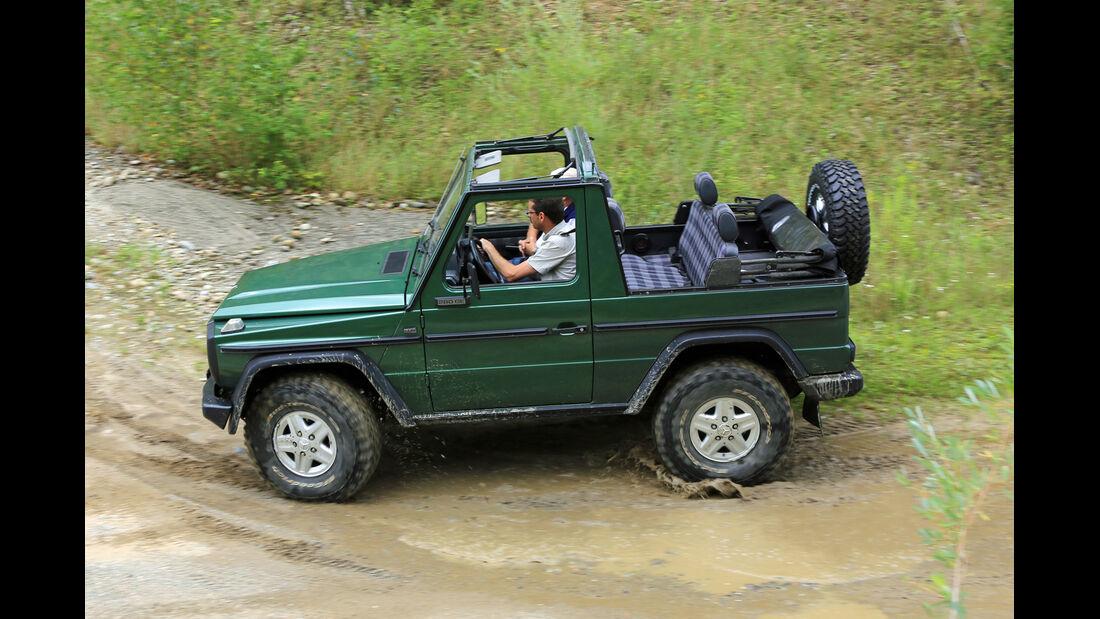 Mercedes 280 GE Cabrio, Seitenansicht