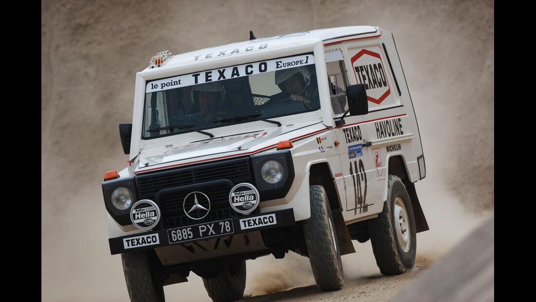 Mercedes 280 GE Dakar, Frontansicht