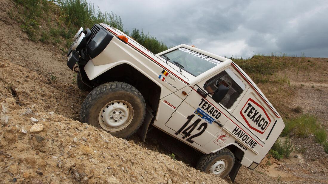 Mercedes 280 GE Dakar, Geländefahrt