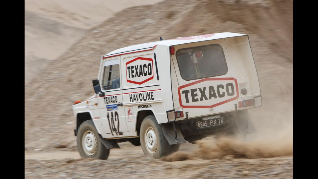 Mercedes 280 GE Dakar, Heckansicht