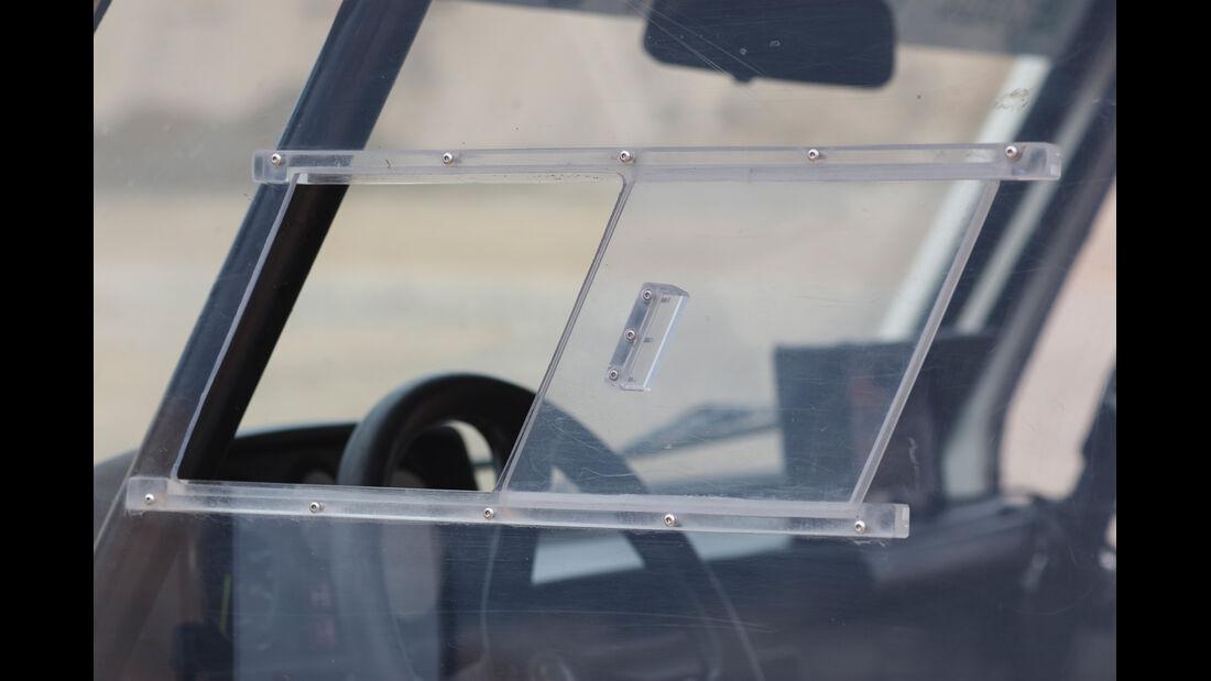 Mercedes 280 GE Dakar, Seitenfenster