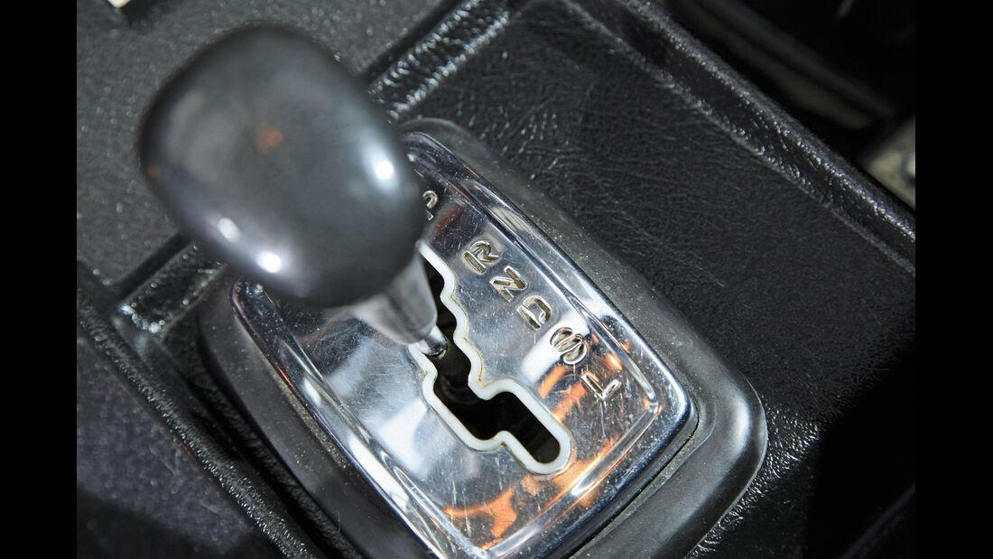 Mercedes 280 S, Schalthebel, Schaltung