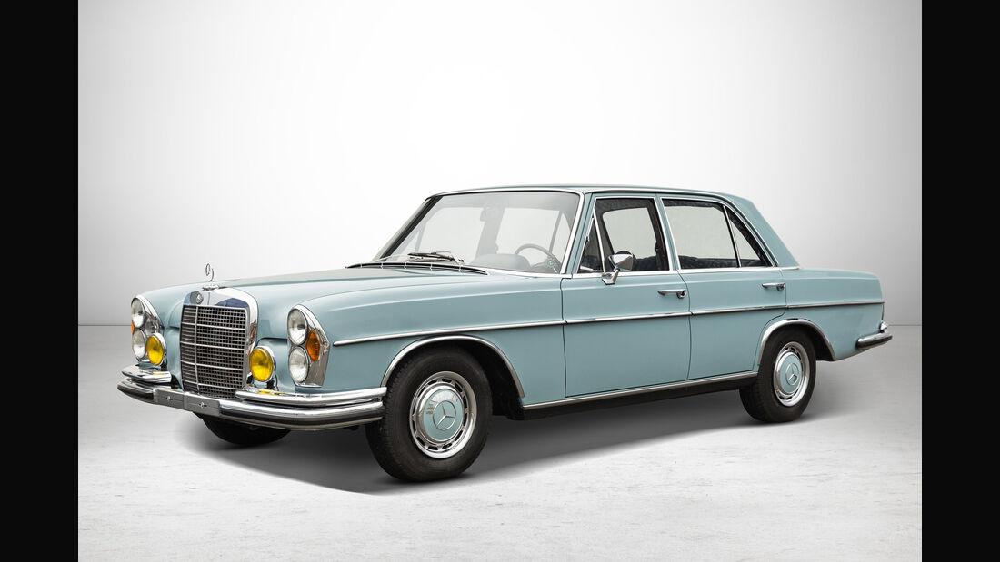 Mercedes 280 S bei Auctionata-Auktion, Mercedes-Benz-Only