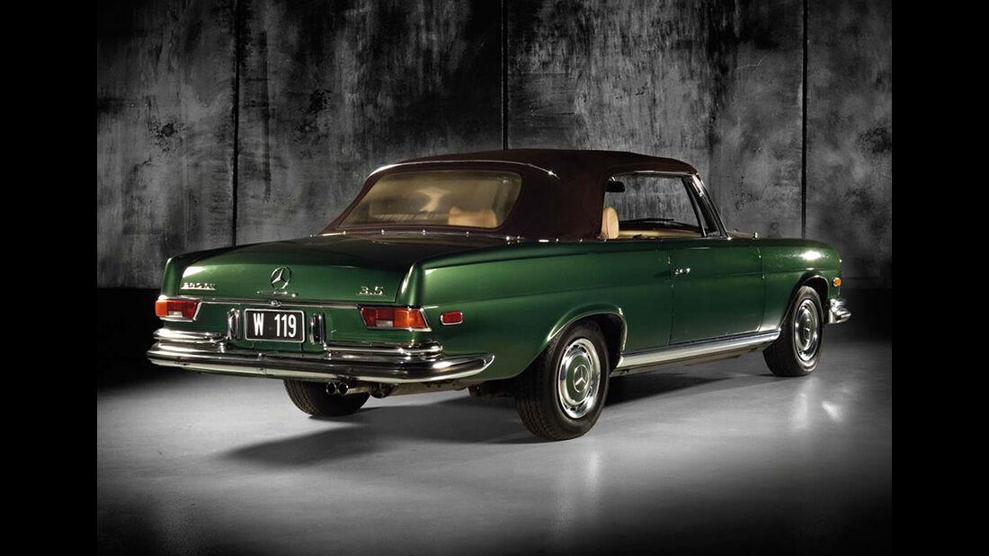 Mercedes 280 SE 3.5 Cabriolet W111 (1970) Wiesenthal