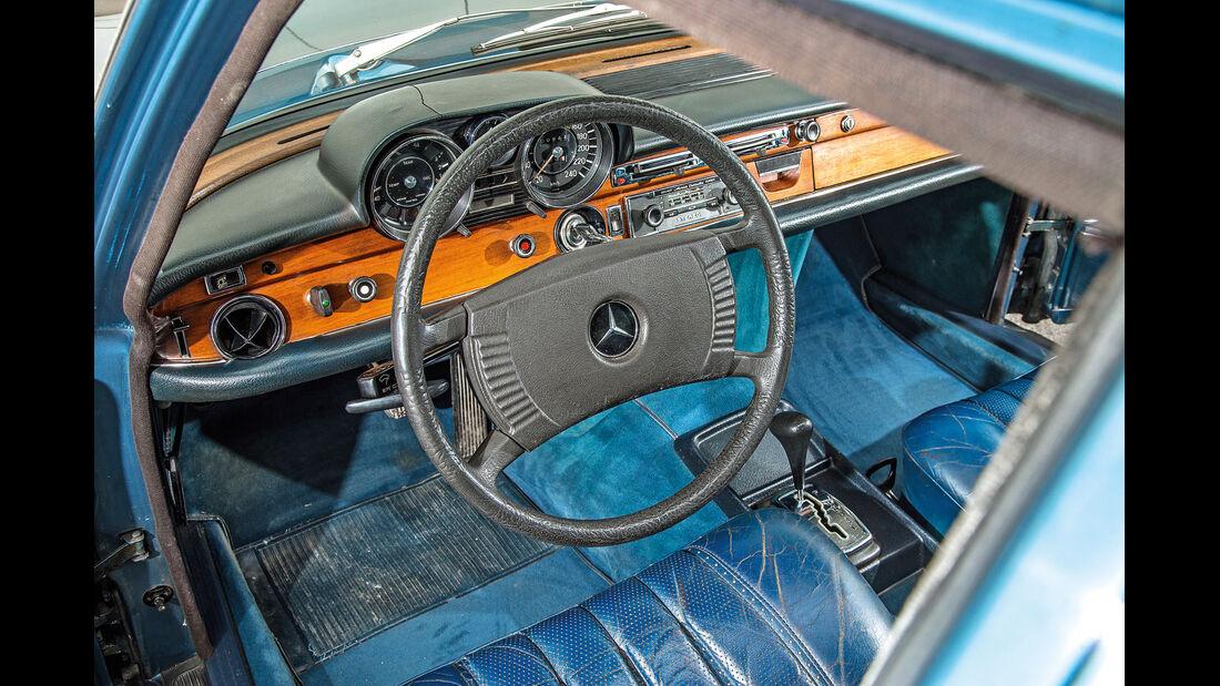 Mercedes 280 SE 3.5, Cockpit