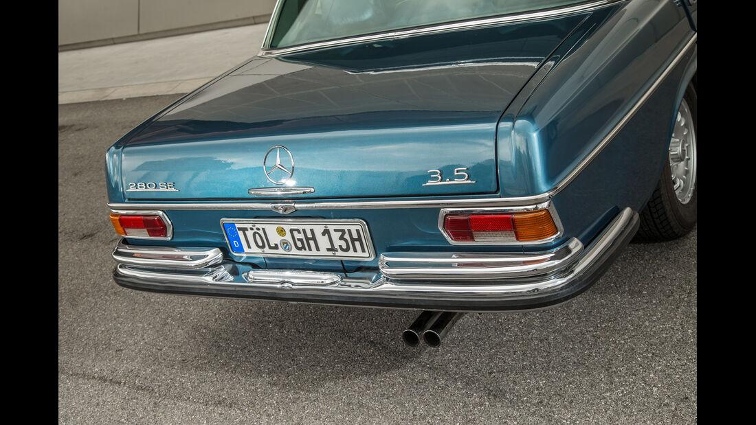 Mercedes 280 SE 3.5, Heck