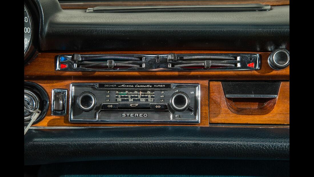 Mercedes 280 SE 3.5, Radio