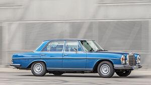 Mercedes 280 SE 3.5, Seitenansicht