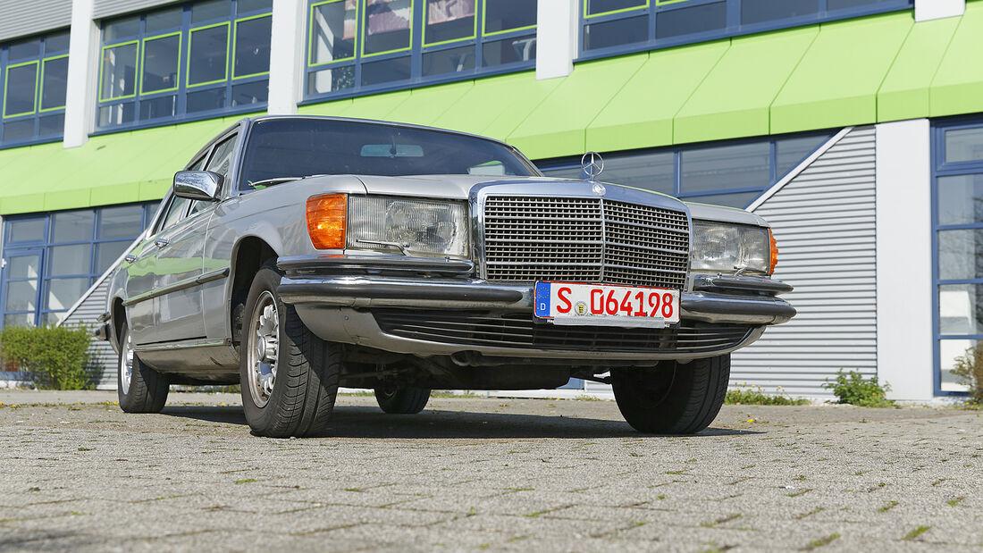 Mercedes 280 SE, Exterieur