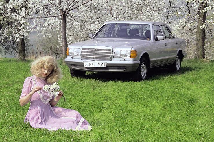 Mercedes 280 SE, Frontansicht