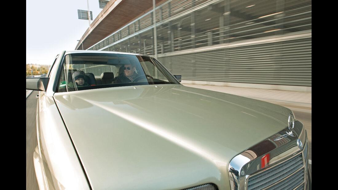 Mercedes 280 SE, Motorhaube