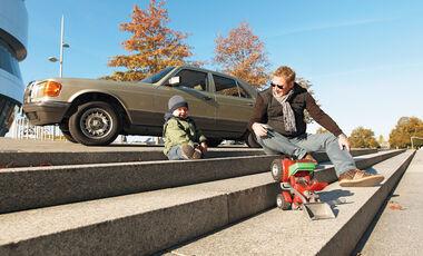 Mercedes 280 SE, Seitenansicht, Jens Katemann