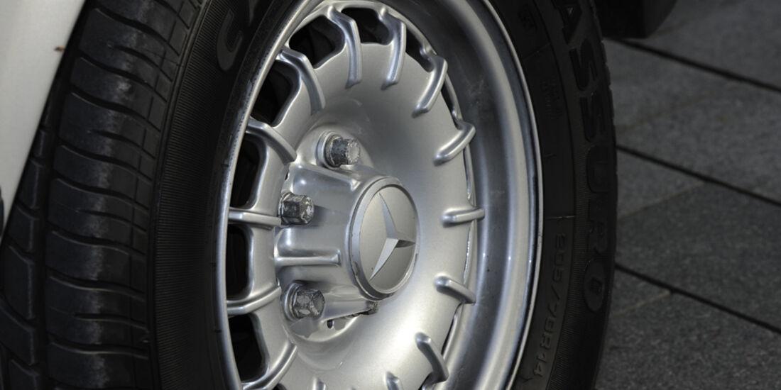 Mercedes 280 SLC, Rad, Felge