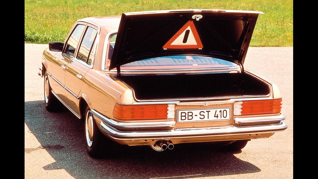 Mercedes 280, Warndreieck
