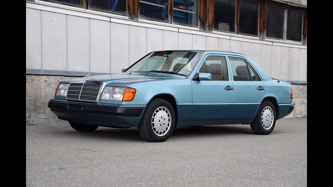 Mercedes 280E W124 1993 Oldtimer Auktion Toffen