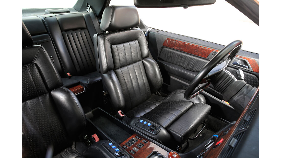 Mercedes 300 CE, Fahrersitz