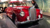 Mercedes 300 Museum Pflege