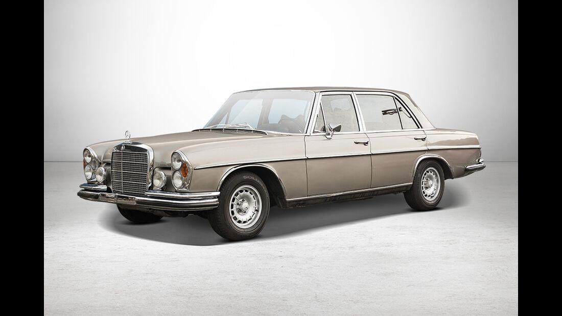 Mercedes 300 SEL 6.3 Coupé bei Auctionata-Auktion, Mercedes-Benz-Only