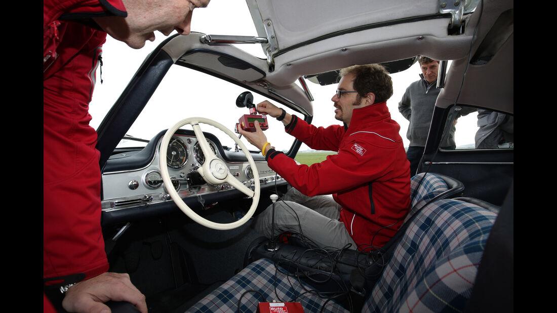 Mercedes 300 SL, Cockpit, Messinstrumente
