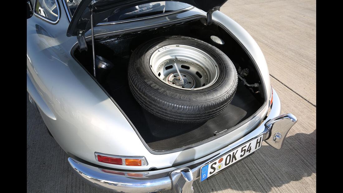 Mercedes 300 SL, Ersatzrad