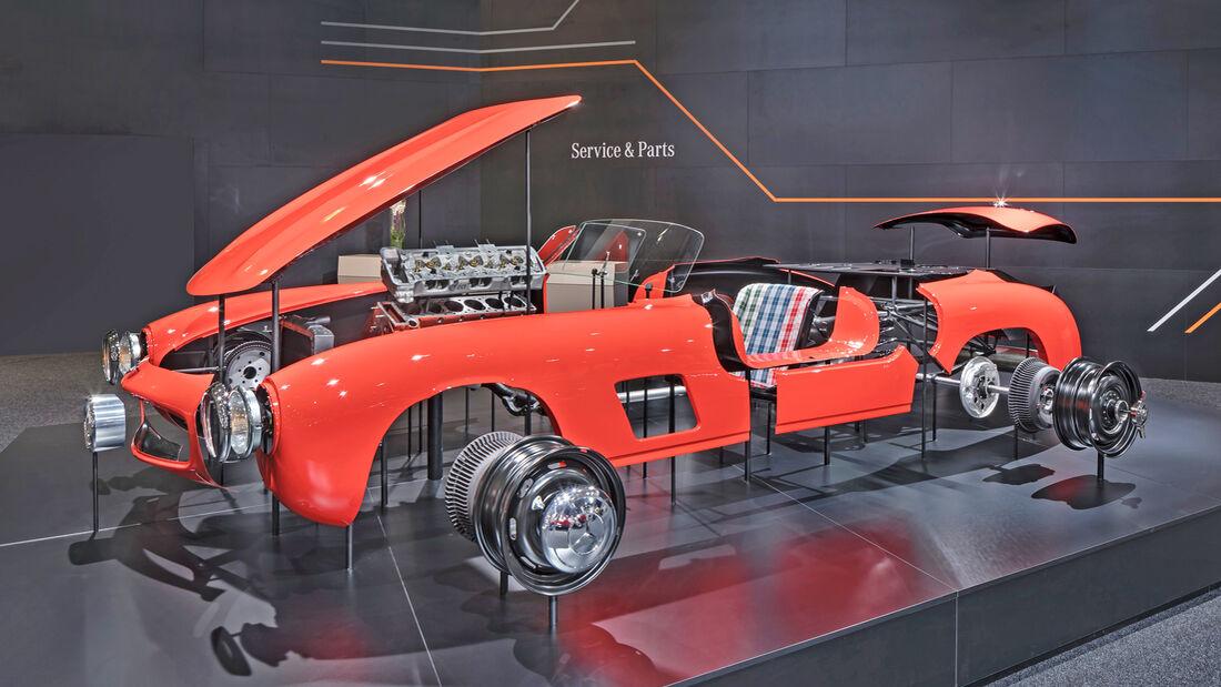 Mercedes 300 SL Flügeltürer Oroginal-Karosserieteile