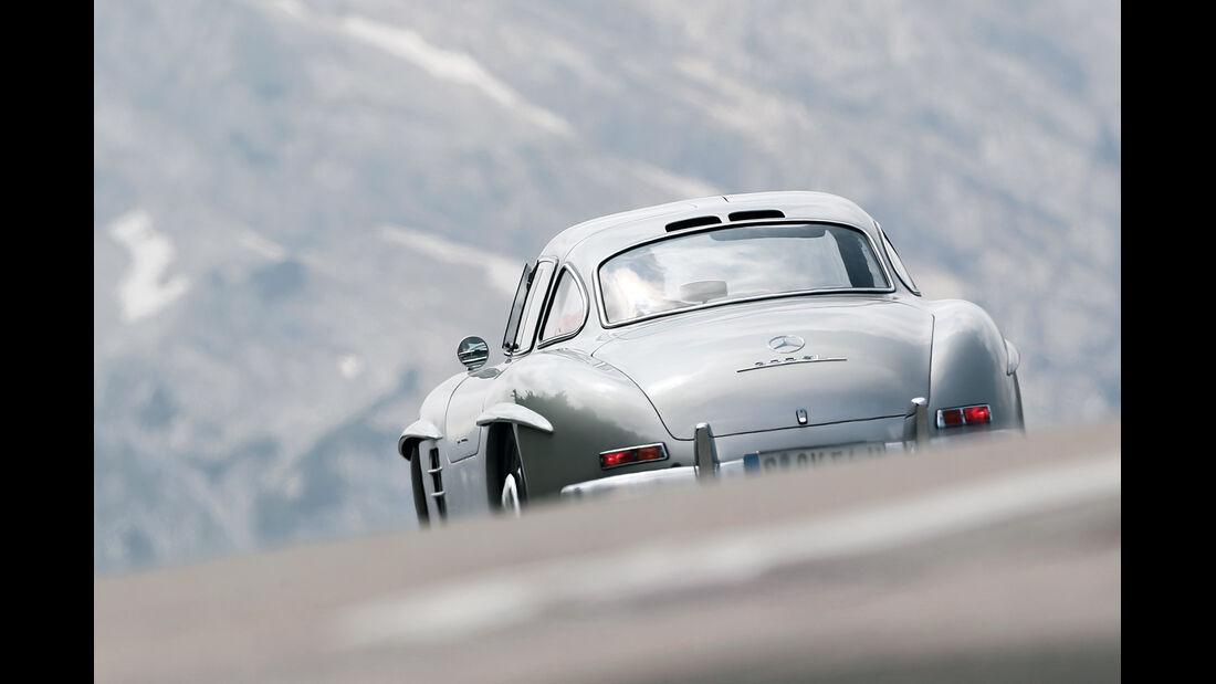 Mercedes 300 SL, Heckansicht