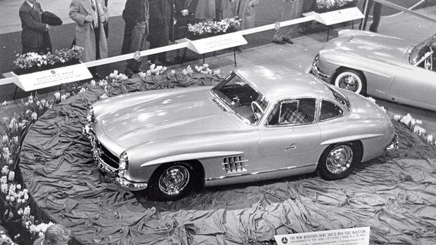 Mercedes 300 SL, Max Hoffman, Austellungsraum