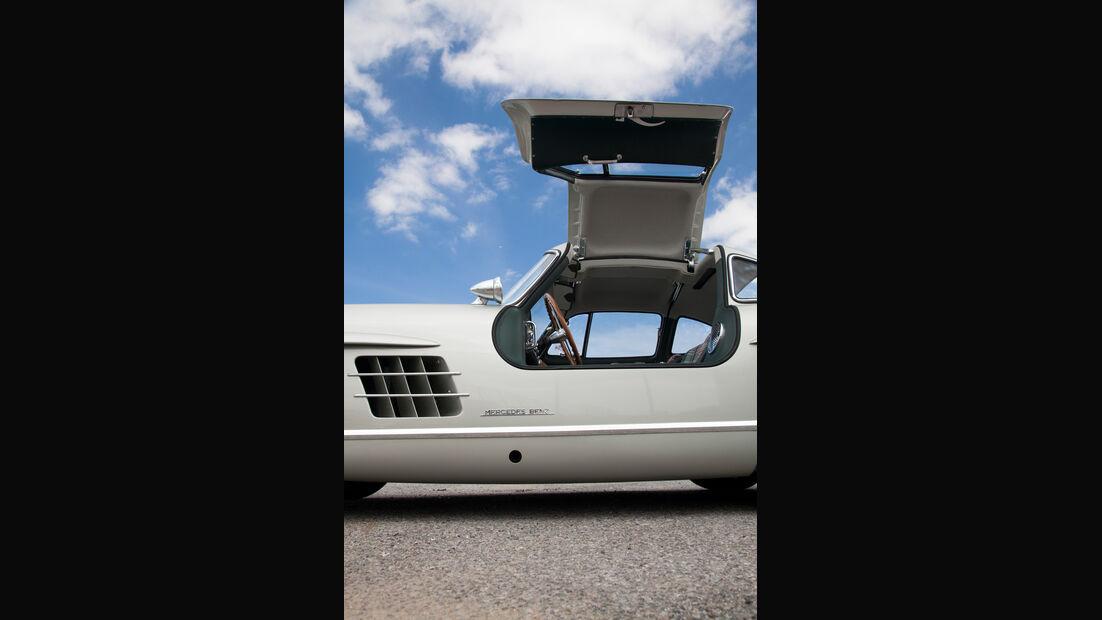 Mercedes 300 SL, Max Hoffman, Flügeltürer