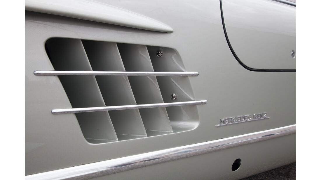 Mercedes 300 SL, Max Hoffman, Luftschlitze