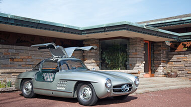 Mercedes 300 SL, Max Hoffman, Seitenansicht