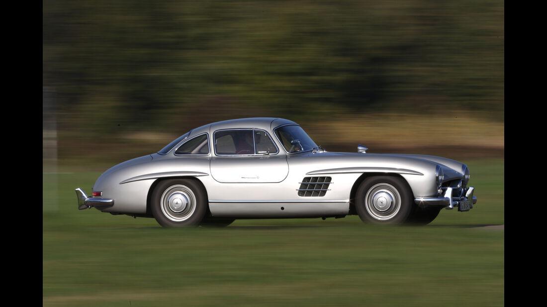 Mercedes 300 SL, Seitenansicht