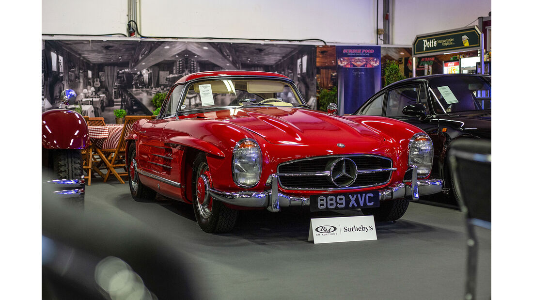 Mercedes 300 SL W198 RM Auctions Techno Classica Essen