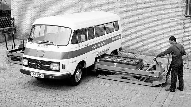 Mercedes 306 LE Elektro Transporter 1972