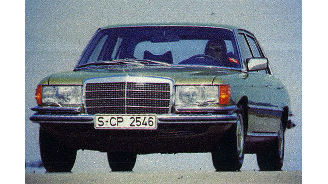 Mercedes, 350 E, IAA 1977