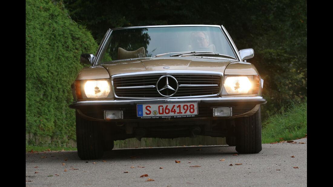 Mercedes 350 SL, Frontansicht