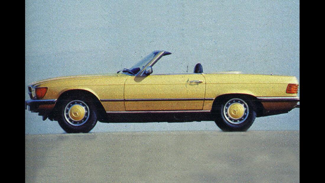 Mercedes, 350 SL, IAA 1977