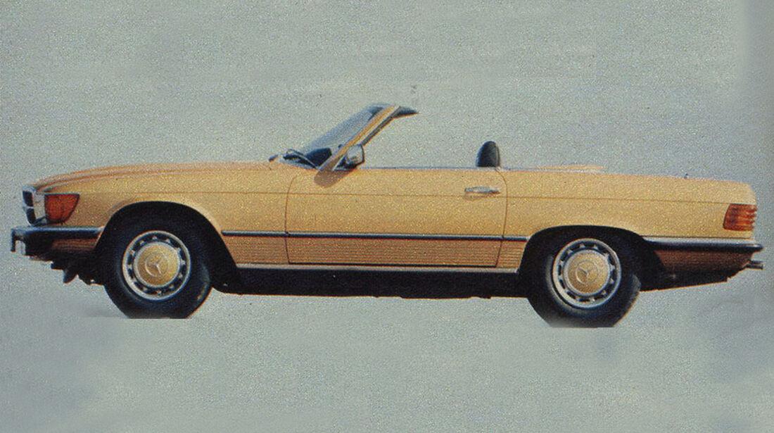 Mercedes, 350 SL, IAA 1979
