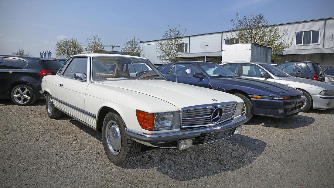 Mercedes 350 SLC, Exterieur