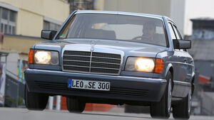 Mercedes 380 SE–560 SEL (W126), Frontansicht
