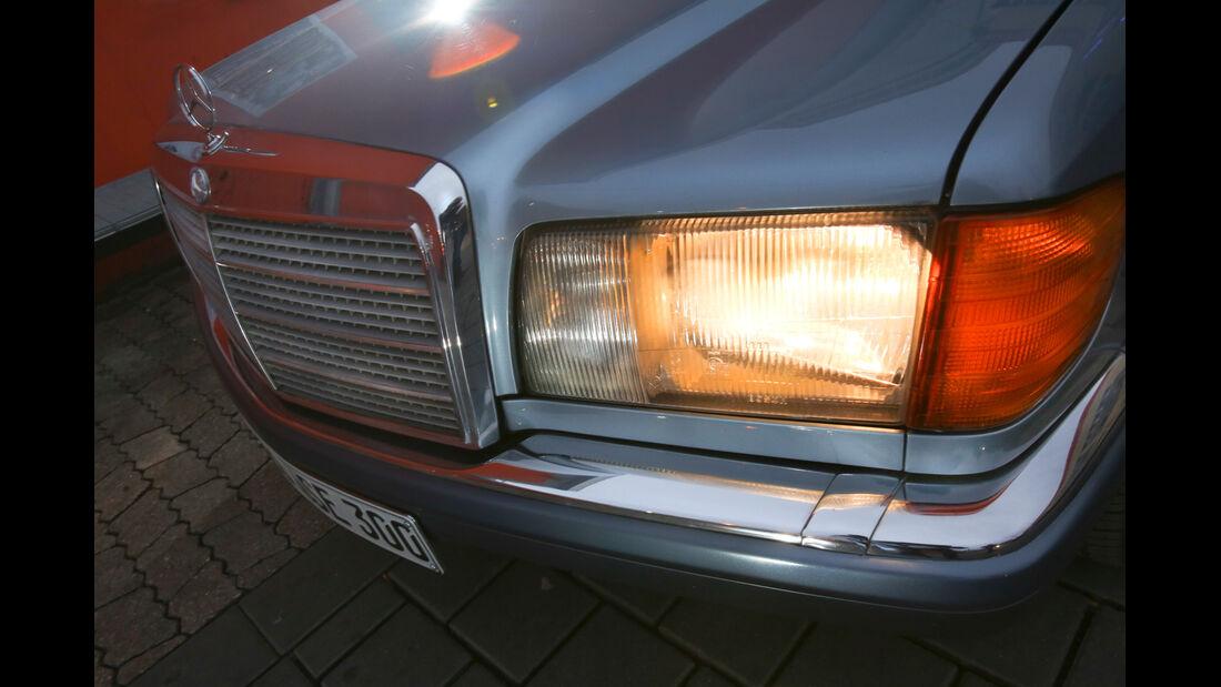 Mercedes 380 SE–560 SEL (W126), Frontscheinwerfer