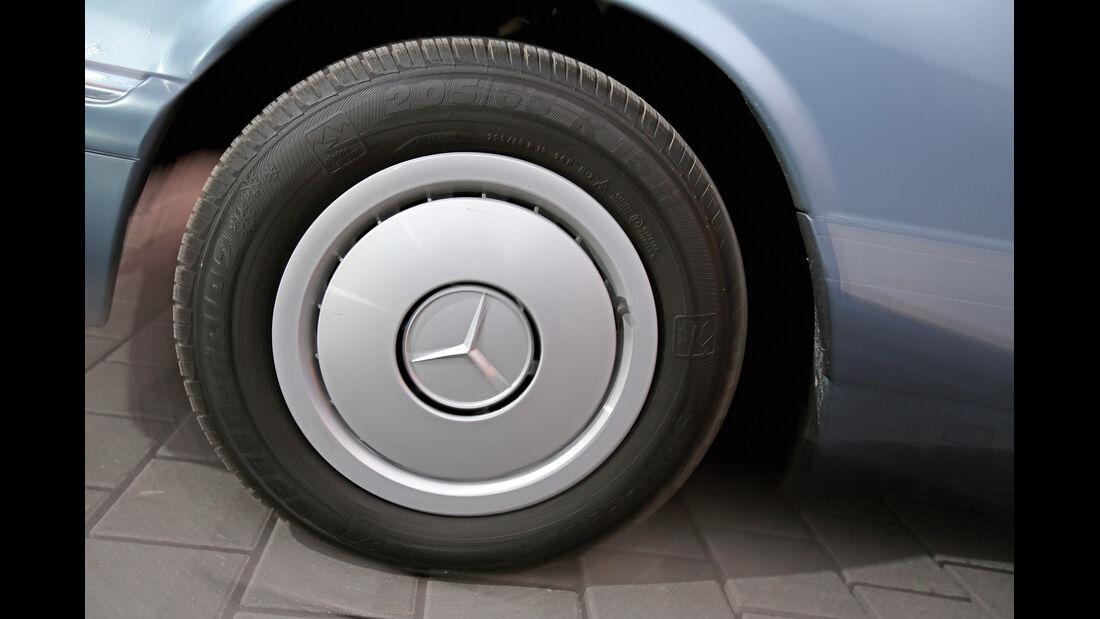 Mercedes 380 SE–560 SEL (W126), Rad, Felge