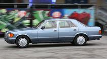 Mercedes 380 SE–560 SEL (W126), Seitenansicht