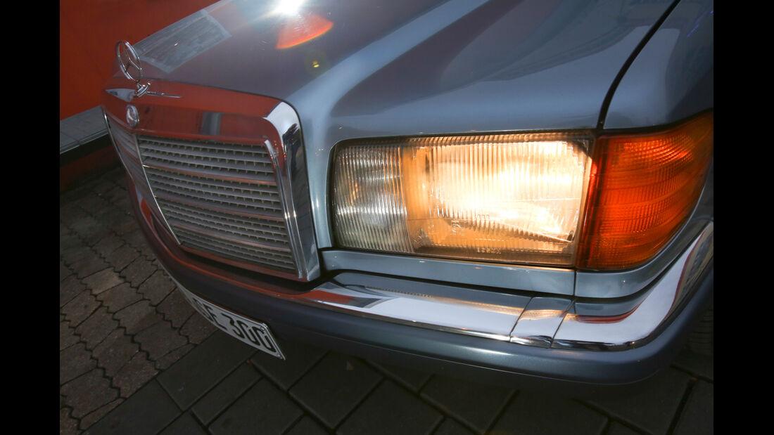 Mercedes 420 SE, Frontscheinwerfer