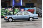 Mercedes 420 SE, Seitenansicht