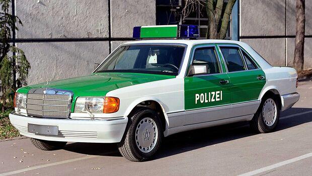 Mercedes 420 SE W126 Polizei Sonderschutz