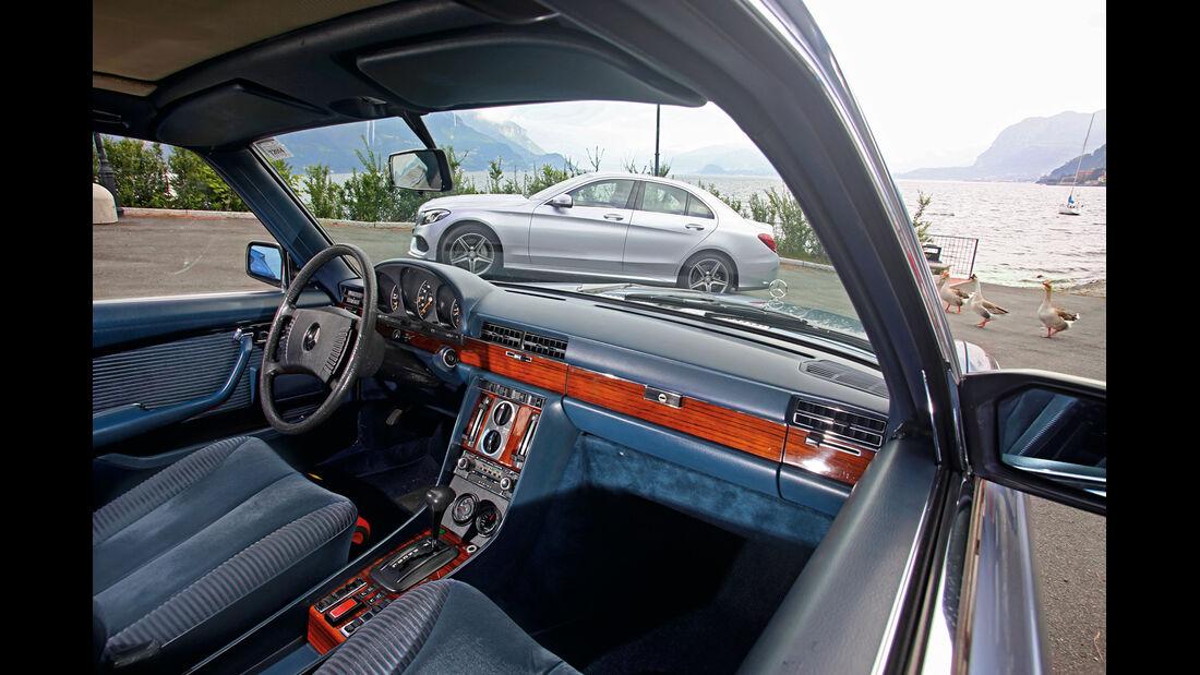 Mercedes 450 SEL 6.9, Cockpit